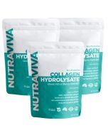 Grass Fed Collagen three pack by Nes Protein