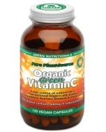 Green VITAMIN C 120 Capsules by Green Nutritionals