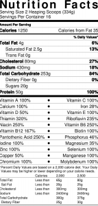product nutrition image