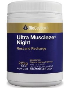 Ultra Muscleze Night 225g by Bioceuticals