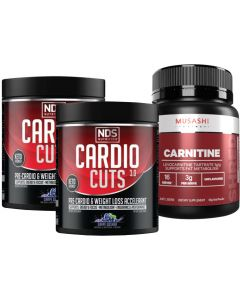 Cardio Cuts & L Carnitine Value Deal By NDS Nutrition