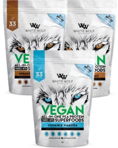 3kg Value Pack Vegan Protein by White Wolf Nutrition