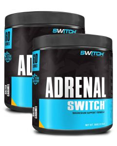 Adrenal 60 Serves Powder Bundle Pack By Switch Nutrition