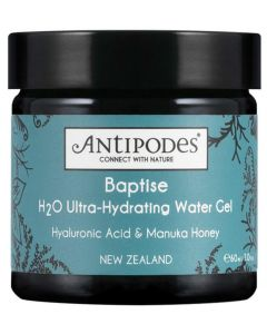 Baptise H2O Ultra-Hydrating Water Gel 60ml By Antipodes