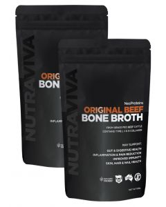 Beef Bone Broth Twin Pack by Nes Proteins