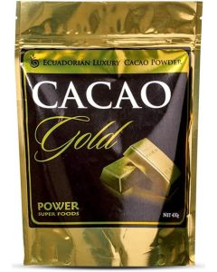 Cacao Gold Pwder 450gm By Power super Foods