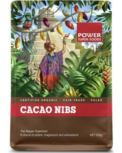 Cacao Nibs 250gm By Power Super Foods