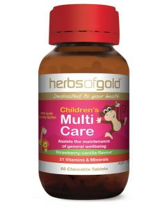 CHILDREN'S MULTI CARE (CHEWABLE) by Herbs of Gold