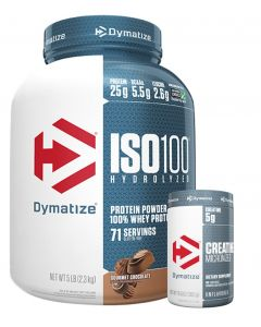 Dymatize Iso100 5lb and Creatine