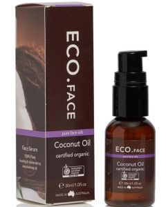 ECO Certified Organic Coconut Face Oil 30ml By ECO Aroma