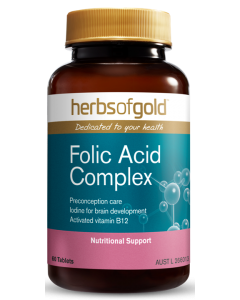 FOLIC ACID COMPLEX by Herbs of Gold