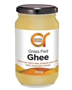 Grass Fed Ghee 450g By Natural Road
