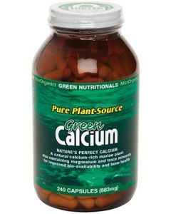 Green CALCIUM 240 Capsules by Green Nutritionals