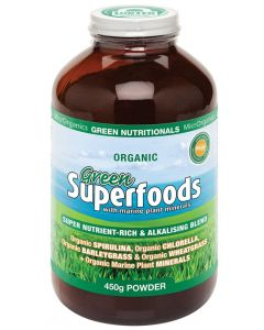 Green Superfoods 450g Powder by Green Nutritionals