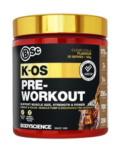 K-OS Pre-Workout by BSC Body Science