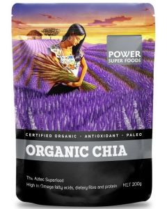Organic Chia 200gm By Power Super Foods