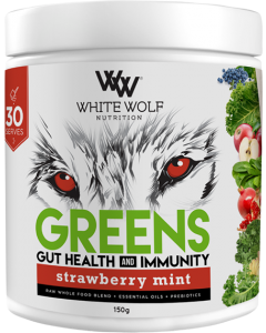 Greens Gut and Immunity by White Wolf Nutrition